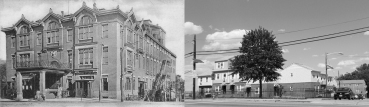 Krueger Auditorium and Brewery: Demolished to build public housing.